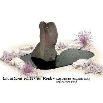 Lavastone Water Rock