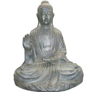 Sitting Buddha 'Time For Peace'