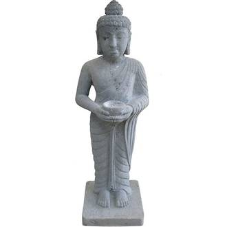 Standing Buddha with Bowl