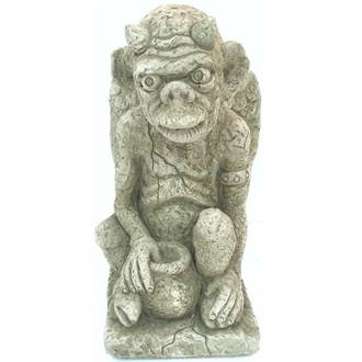 Gargoyle with Pot