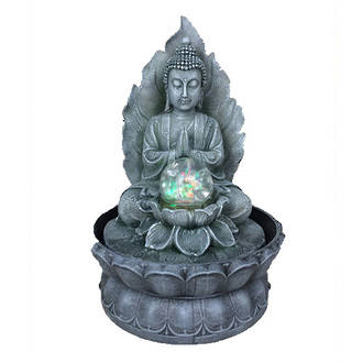 Tabletop Buddha & Spinning Ball (Indoor)