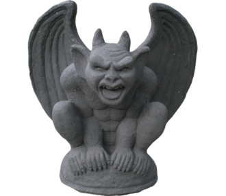 Gargoyle with Horns