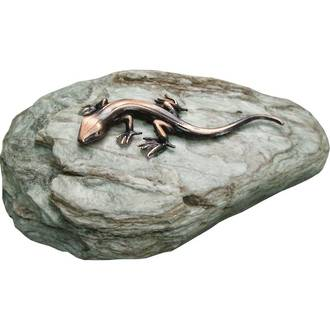 Lizard on Rock - Copper