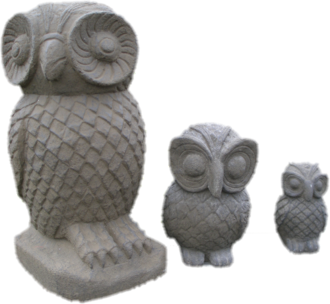 Owls - Set of 3