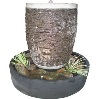 Stacked Stone Pot