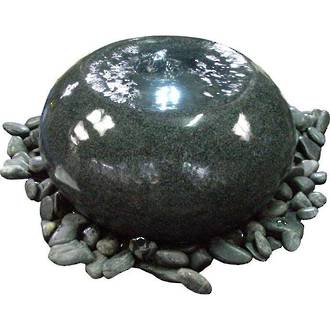Polished Granite Bowl