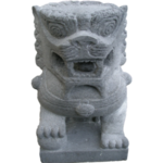 Chinese Carved Foo Lions