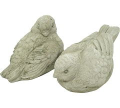 Featured Product SCDB80 Sculpture Statue Birds Sparrows