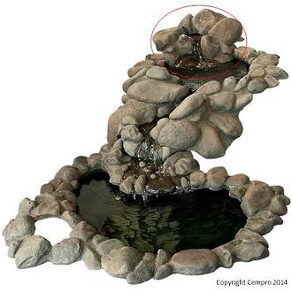 Pebble Brook Top Tier - Small