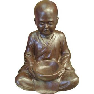 Sitting Shaolin Monk with Bowl