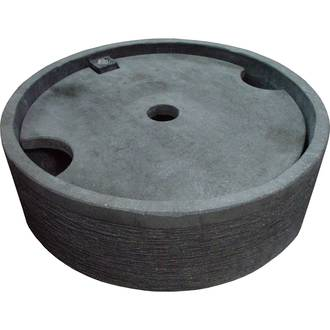 Round Concrete Pond with Lid