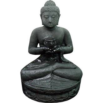 Buddha Sitting with Bowl