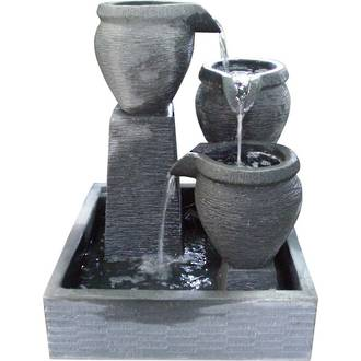 Square Tiered Bowls & Reservoir