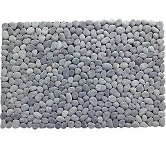 Featured Product SMDMBL Stonemat Doormat Black Sumatra Pebble