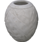 Carved Cream Pot