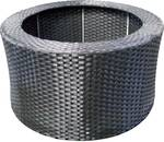 Rattan Cover - for Round with Lid