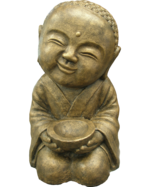Smiling Shaolin Monk with Bowl